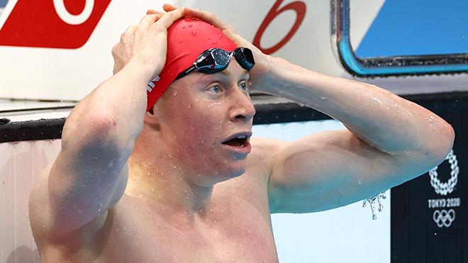 Olympic 2020 - Ngày thi đấu thứ 4: Đoàn Mỹ hái vàng, Anh thống trị 200 mét tự do
