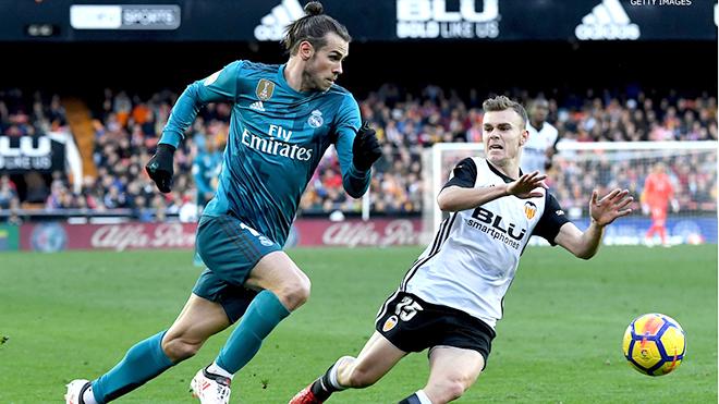 Bale vẫn đang miệt mài chiến đấu để khẳng định mình tại Real Madrid