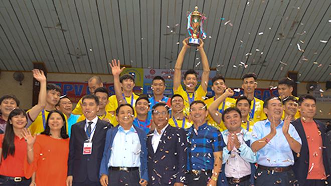 Đòi món nợ Thể Công, Sanest Khánh Hoà đăng quang giải bóng chuyển VĐQG 2017
