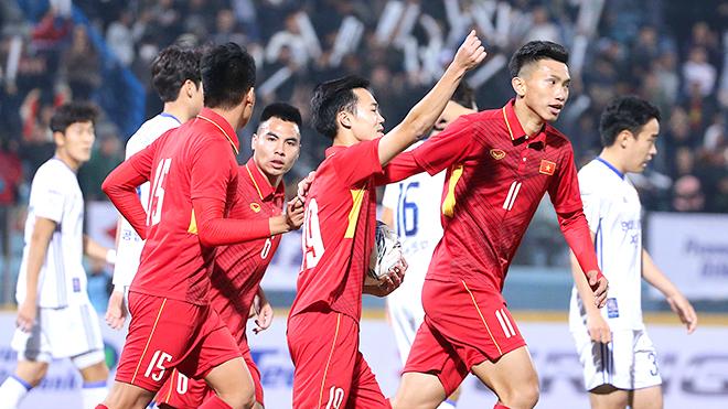 Chờ quà năm mới của U23 Việt Nam