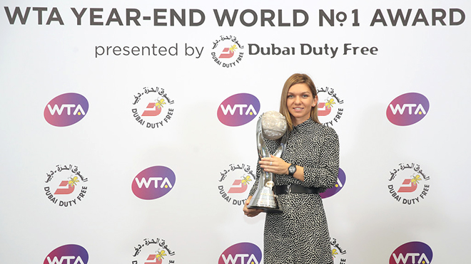 Simona Halep có xứng đáng với ngôi số 1?