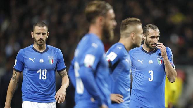 Italy - Thụy Điển (lượt đi 0-1): Chiến thắng, hay là chìm trong nhục nhã?