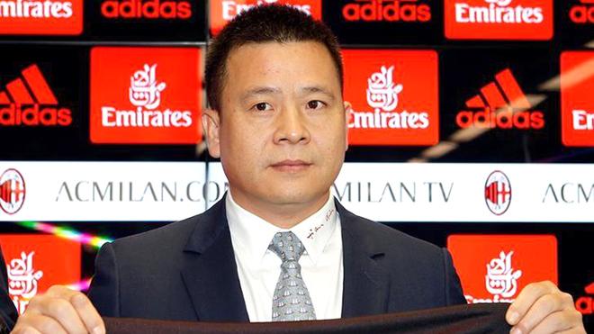 Ông chủ Trung Quốc bị nghi là đại gia 'rởm', AC Milan có nguy cơ vỡ nợ