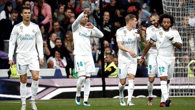 Real Madrid như nhà vô địch với đôi chân pha lê