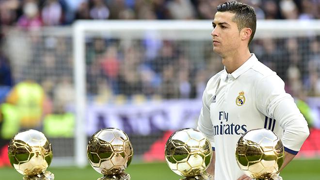 Cuộc tái ngộ của Ronaldo với Quả bóng vàng
