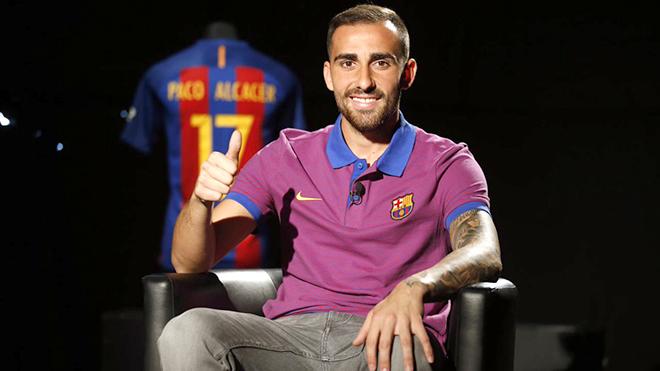 Paco Alcacer sẽ là lá bài tẩy của Valverde