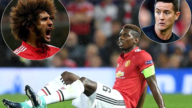 Không Pogba, Mourinho có thể tin cậy cả Herrera và Fellaini