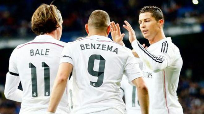 Ở Real Madrid, BBC đúng là bất khả xâm phạm
