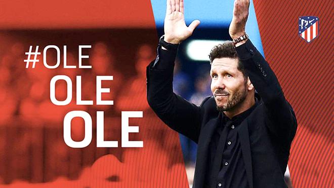 Atletico gia hạn hợp đồng với Simeone: Tình yêu và đồng tiền