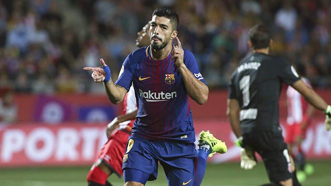 'Quái vật' Luis Suarez đã trở lại cùng Barca