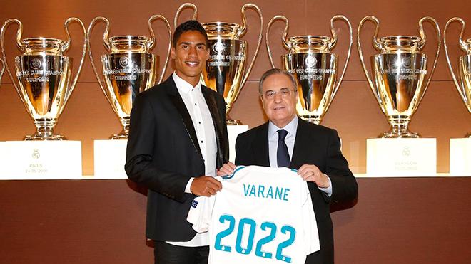 Varane là tương lai của Real Madrid