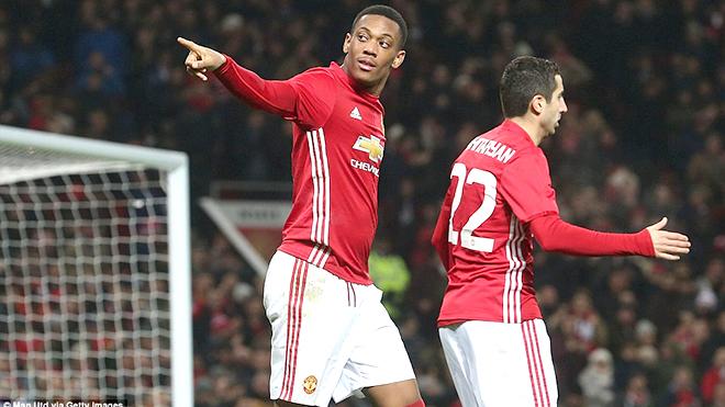 Anthony Martial đang đá hay trở lại, chẳng có lý do gì bị đẩy khỏi Man United