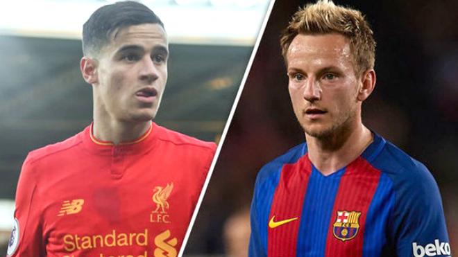 Barca mang Rakitic ra đổi Coutinho, liệu khiến Liverpool xiêu lòng?
