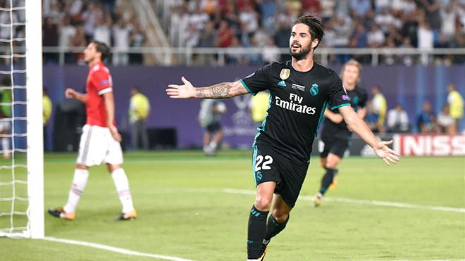 Real Madrid không cần lo sợ mất Isco vì anh chỉ hạnh phúc khi ở Bernabeu