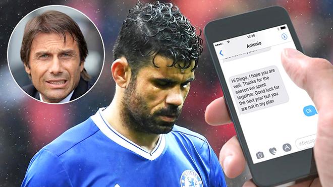 Chưa chắc Costa đã rời Chelsea trước... Conte