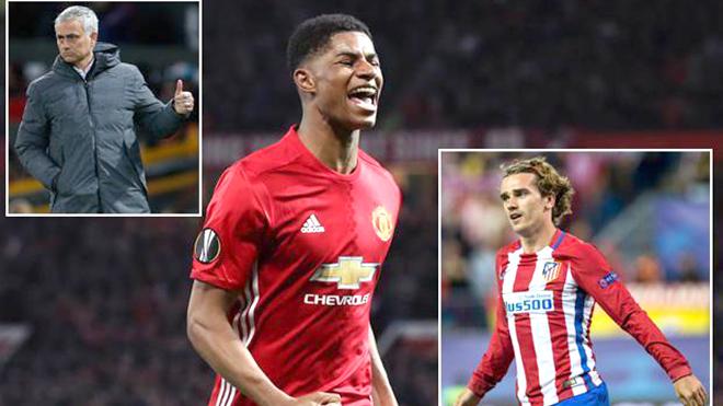 Griezmann đến Man United, Rashford sẽ hưởng lợi?