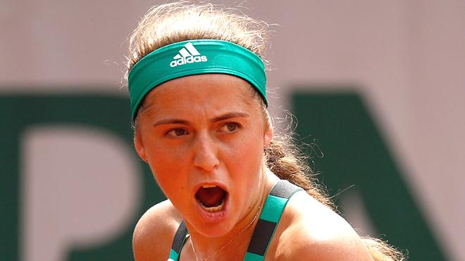 Roland Garros choáng ngợp trước 'cánh chim lạ' Jelena Ostapenko