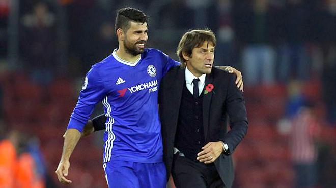 Chelsea cần ủng hộ Conte vụ Costa