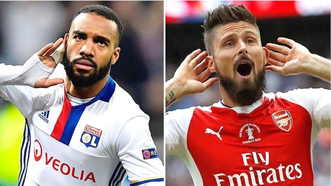 Arsenal còn chần chừ gì nữa, Lacazette đương nhiên xuất sắc hơn Giroud