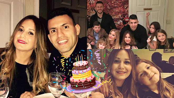 Sergio Aguero khổ sở vì 'con anh con tôi'