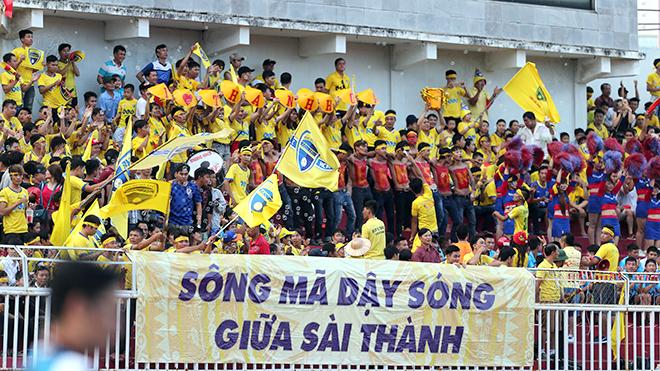 Những trận hòa cứu rỗi của vòng 15 V-League 2017