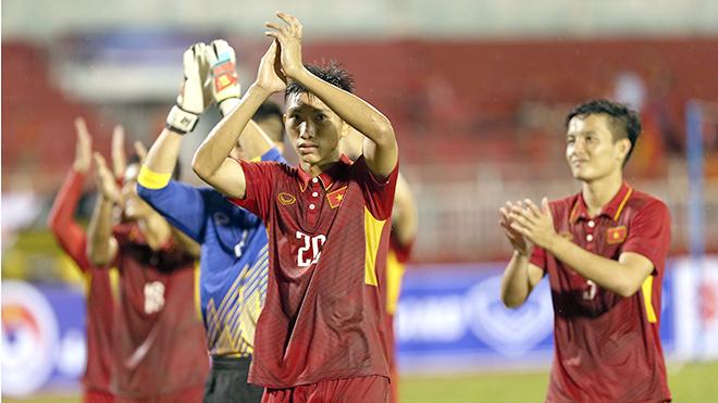 U22 Việt Nam đá cho dân thương