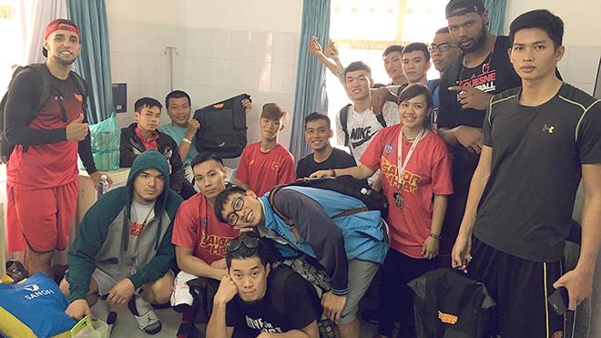 Giải bóng rổ chuyên nghiệp Việt Nam – VBA 2017: Chuyên nghiệp đến cả công tác y tế