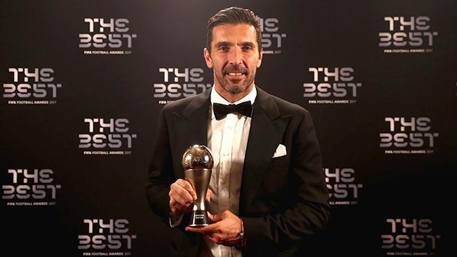 """Buffon và nỗ lực tột cùng cho """"The Best"""""""