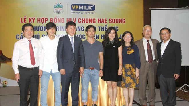 HAGL và 'tuần trăng mặt' với GĐKT Chung Hae Seong