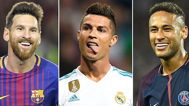 Ronaldo muốn nghỉ ngơi? Hãy hỏi Messi và Neymar!