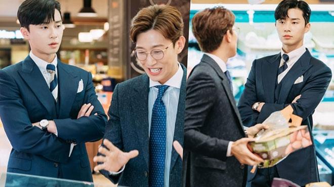 Tập 7 'Thư ký Kim sao thế?': Tình bạn 'bromance' đáng ngưỡng mộ của Park Seo Joon và Kang Ki Young