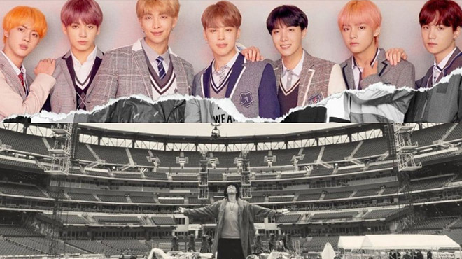 BTS chia sẻ cảm xúc là nghệ sĩ K-pop đầu tiên trình diễn tại SVĐ Mỹ