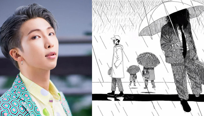 RM của BTS tung ra 'Forever Rain', MV đầu tiên của mixtape 'Mono'