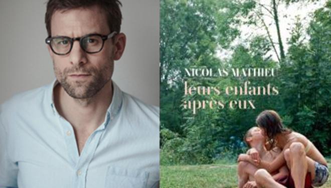 Giải Prix Goncourt 2018 thuộc về nhà văn Pháp Nicolas Mathieu