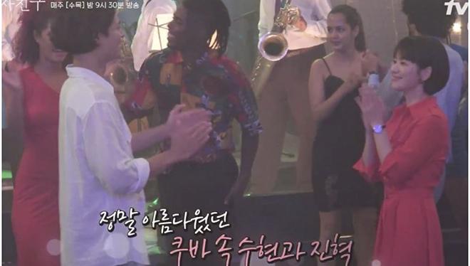 VIDEO những cảnh hậu trường đầu tiên của Song Hye Kyo và Park Bo Gum trong 'Encounter' ở Cuba