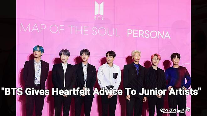 BTS họp báo 'livestream', đưa ra lời khuyên chân thành cho các nghệ sĩ trẻ