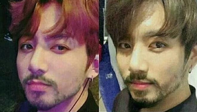Thành viên BTS và các sao ''búp bê'' K-pop trông như thế nào khi để râu?