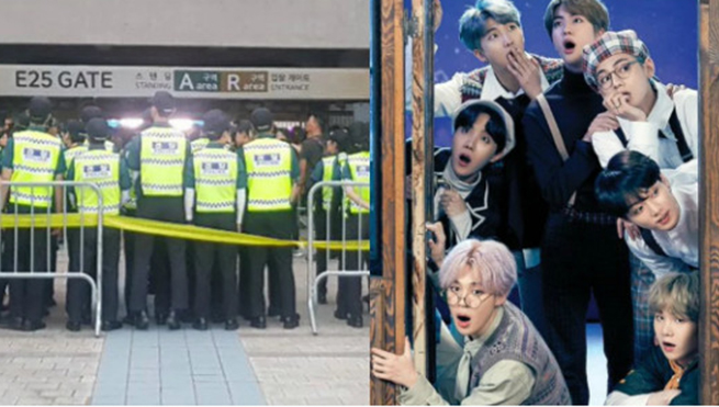 ARMY tố cảnh sát quấy rối, đánh đập trong 'Muster' của BTS ở Busan