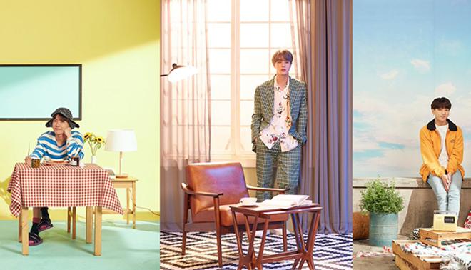 BTS tung bộ ảnh gia đình mới cho Festa 2019: Jungkook khỏe khắn, J-Hope lãng tử