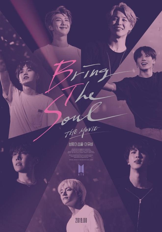 BTS, BTS phát hành phim thứ 3, Phim Bring the Soul The Movie, Tour Love Yourself, BTS phát hành phim mới Bring The Soul The Movie, BTS phát hành phim, Phim BTS, BTS phim
