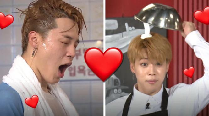BTS  Màu tóc bạc hà của V tạo trend ARMY  Run BTS  V BTS  Minty V