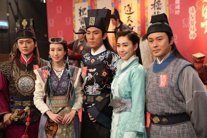 Bao Thanh Thiên Tái khởi Phong Vân, TVB, Trương Chấn Lãng, Đàm Tuấn Ngạn, Tào Vĩnh Liêm