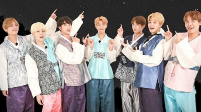 BTS gửi lời chúc 'Trung thu vui vẻ' tới người hâm mộ