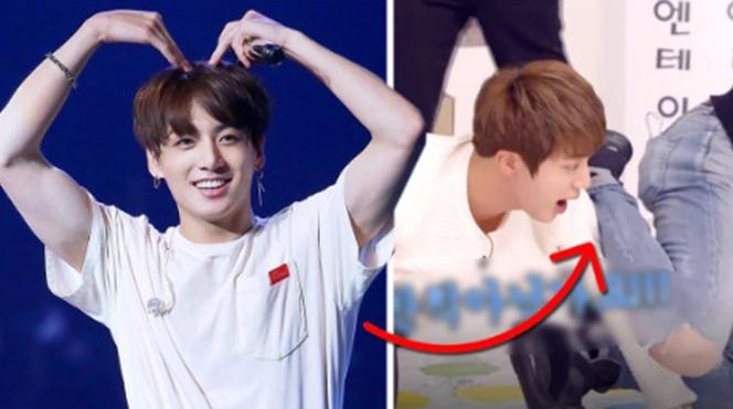 Hài hước: Jungkook đôi khi quá khỏe, khiến các chàng trai BTS 'ăn đòn'