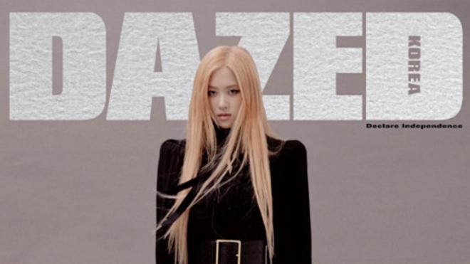 'Nghẹt thở' với dáng thon, chân dài của Rose Blackpink trên DAZED Korea