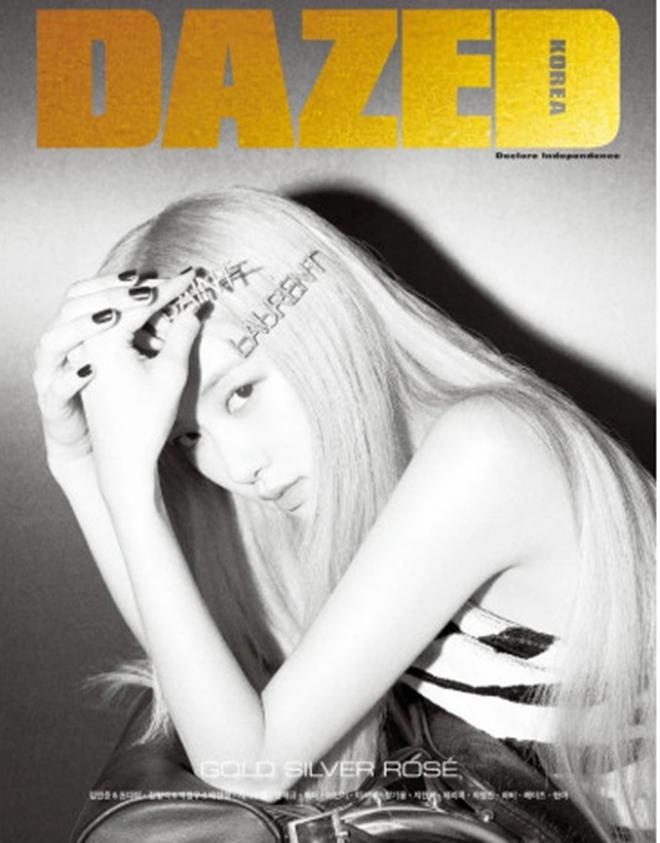 Rose, Blackpink, Rose trên Dazed Korea, Rose Blackpink cực lôi cuốn