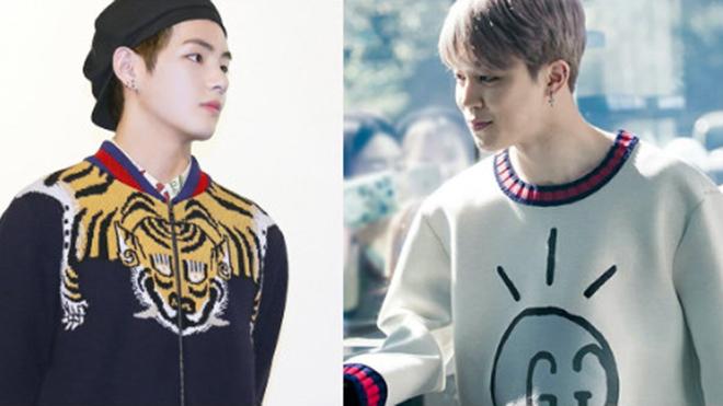 V, Jungkook BTS và các thần tượng K-pop không tiếc tiền mua tặng nhau quà 'khủng'