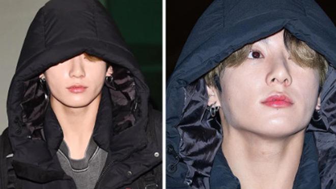 Fan lại có cơ hội được 'liếc' mái tóc bí ẩn của Jungkook BTS
