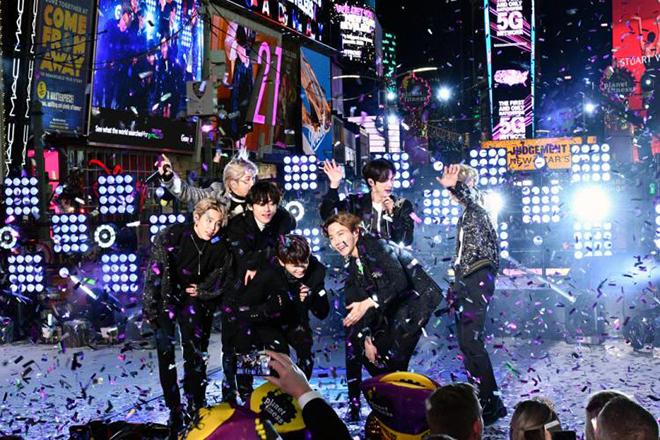 BTS, Bts, Jungkook, New York, Quảng trường Thời đại, Times Square, BTS năm mới, bts