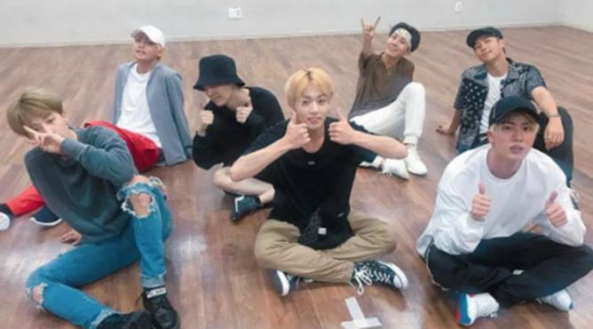 BTS thường luyện vũ đạo tới 10+ tiếng một ngày và đây là kết quả